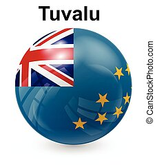 tuvalu official state flag