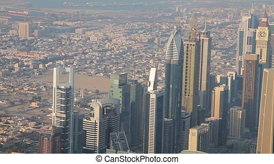 View From  Burj Khalifa Out On Duba
