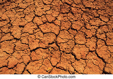 Abstract background of cracked earth. Drought.
