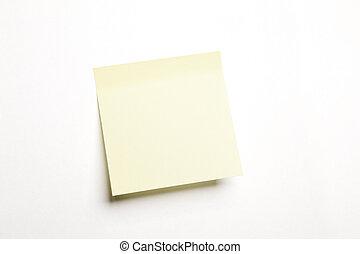 blank notice