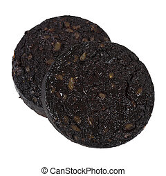 Black Pudding - Sausage made with pig's blood, oatmeal and...