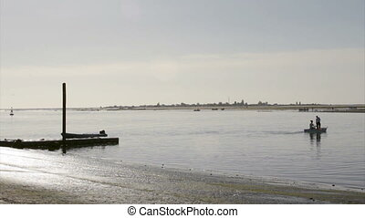 Ria Formosa Armona Island view - landscape view from Olh?o...