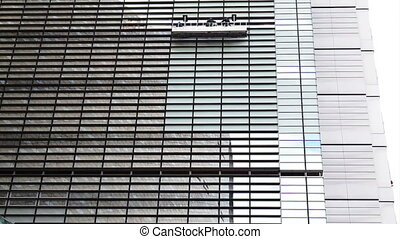 Cleaning Modern Glass Building - Cleaning The Windows of a...