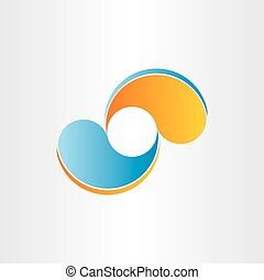 abstract business icon company design element