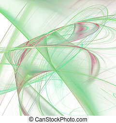 Colorful background with gradients and abstract wave...