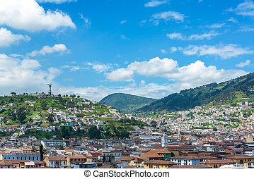 Quito, Ecuador Cityscape