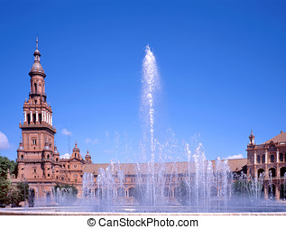 Plaza de Espana,Sevilla