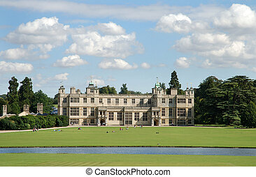 English country house. - Audly End English country house