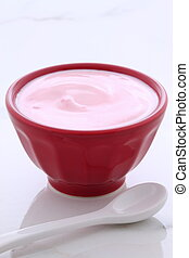 Artisan greek strawberry yogurt - Artisan slow churned Greek...