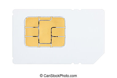 Sim card back side