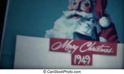(8mm Film) Coke Christmas 1949 - A unique vintage 8mm home...