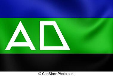 Flag of Andijk, Netherlands. - 3D Flag of Andijk,...