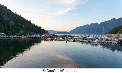Time Lapse at Horseshoe Bay BC - Ultra High Definition UHD...