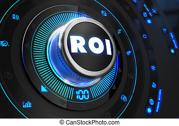 ROI Controller on Black Control Console. - ROI - Return of...