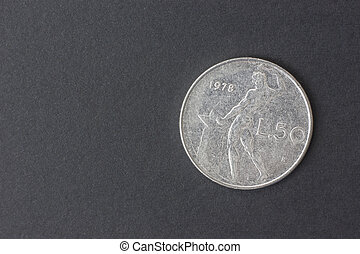 cincuenta,  lire, italiano