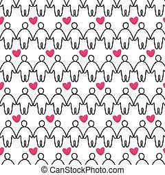 Love-people-pattern
