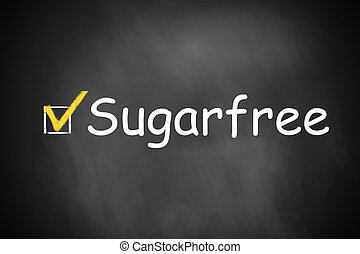 chalkboard checkbox checked sugarfree - black chalkboard...