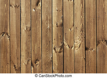 Texture - old wooden boards brown color