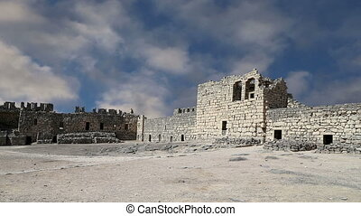 Azraq Castle,central-eastern Jordan - Ruins of Azraq Castle,...