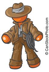 Design Mascot Adventurer - A design Mascot Adventurer