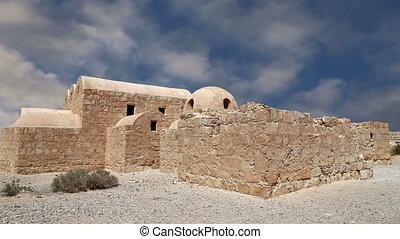 Amra desert castle near Amman - Quseir Qasr Amra desert...