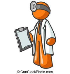 Orange Man Doctor