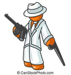 Orange Man Gangster