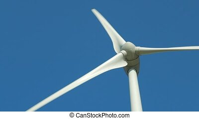 rotating propeller wind power