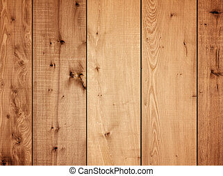 Wooden plank panels wall background