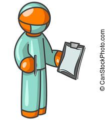 Orange Man Surgeon