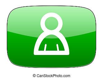 person green icon