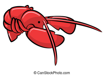 Red Lobster, Freshly Cooked - A red lobester, freshly...