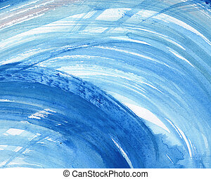 Abstract watercolor painted background