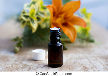 Massage oil for aromatherapy and complete relaxation