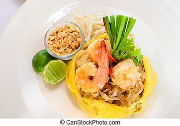 Phad Thai, Thai food.