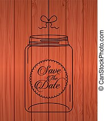 glass bottle design, vector illustration eps10 graphic