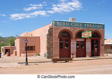 The Bird Cage - The bird cage Theater in Tombstone Arizona