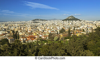 Panorama of the Athens