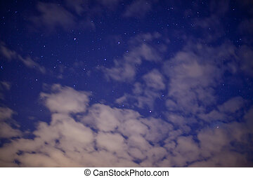 Stars at the nigth sky