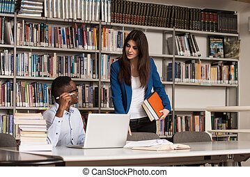 Beautiful Female Student Asking For Studying Together -...