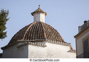 Church in Ibiza City, Balearic Islands