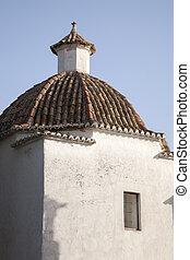 Church in Ibiza City, Balearic Islands, Spain