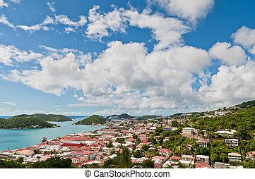 Charlotte Amalie, St. Thomas, U.S.V.I. - View of Charlotte...