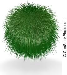 Ball of Green Long Grass