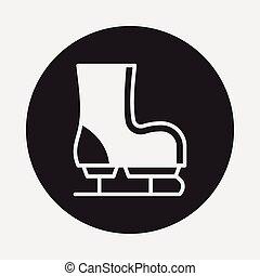 ice-skate icon