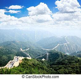The Great Wall at Badaling near Beijing, China