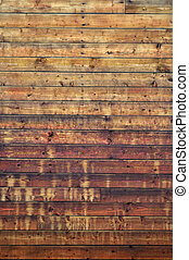 Wooden planks - Weathered aged striped textured wooden...