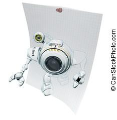 Robot Web Cam Emerging Ideas - A 3d robot web cam emerging...