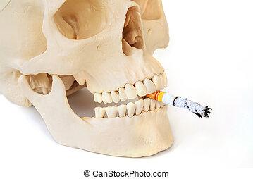 Smoking kills, Stop smoking.