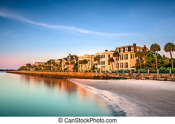 Charleston Historic Homes District - Charleston, South...